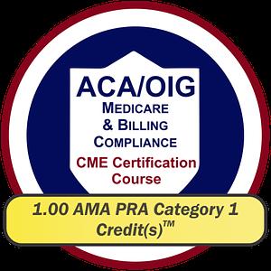 EPICourses ACA-OIG Medicare Billing Compliance CME Logo - Large