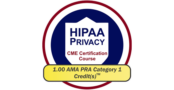 HIPPA PRIVACY CME Certification Course