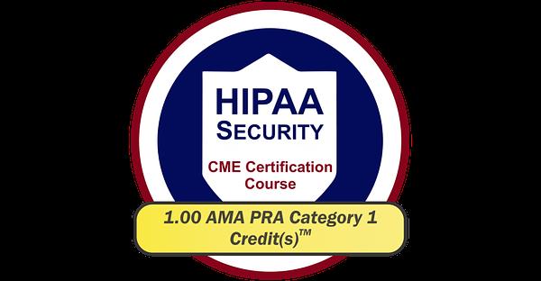 EPICourses HIPAA Security CME Logo - Large