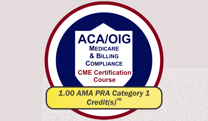 EPICourses ACA-OIG Medicare Billing Compliance CME Logo - Medium