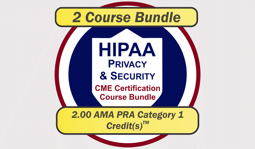 EPICourses HIPAA Privacy and Security CME Bundle Logo - Medium